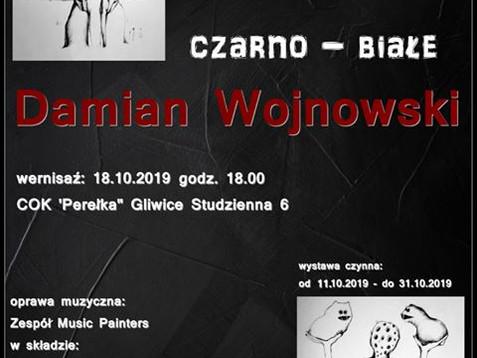 Wystawa Rysunku Damiana Wojnowskiego Czarno - Białe