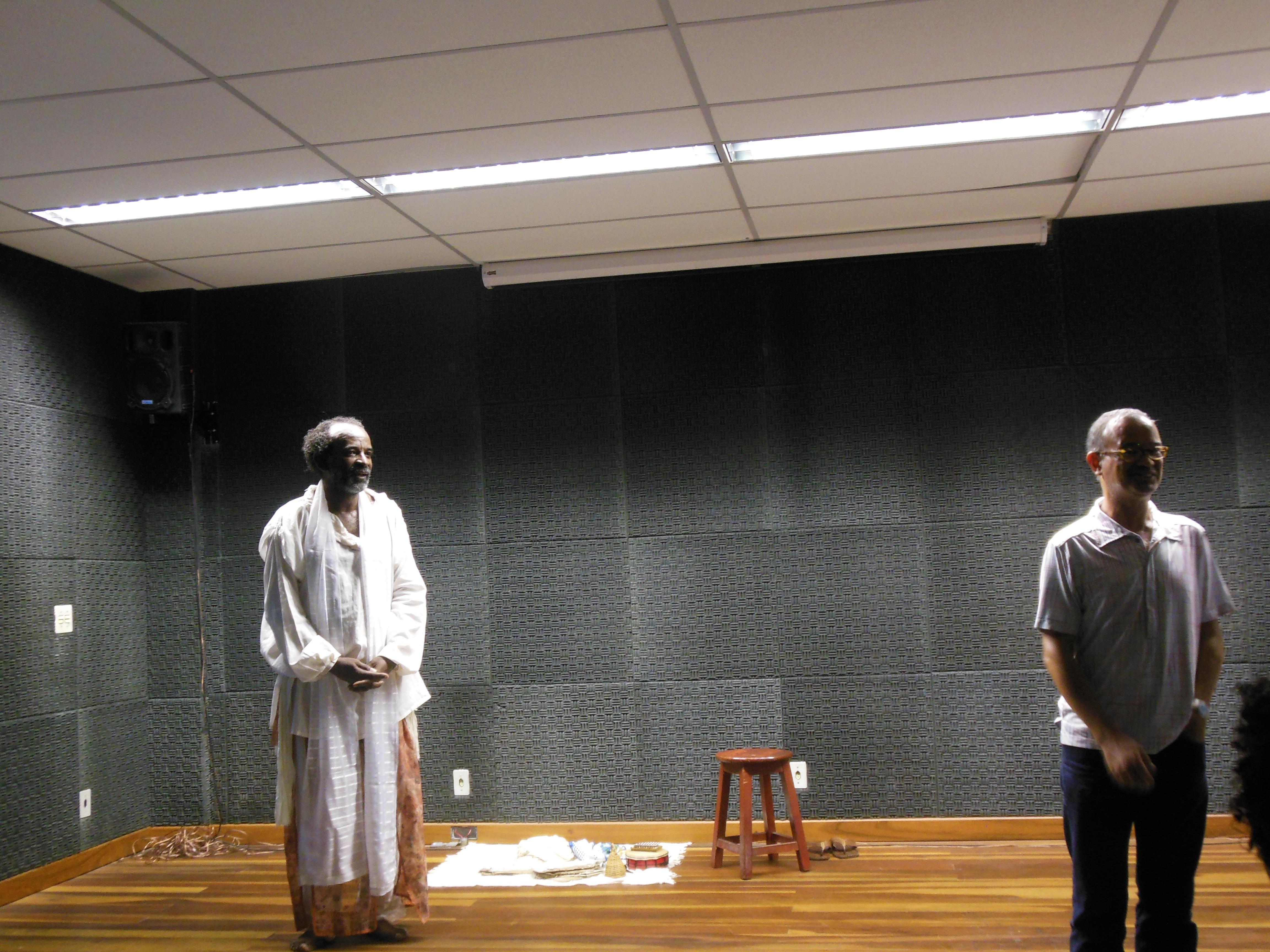 Debate após espetáculo