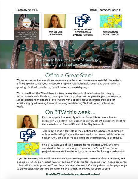 BTW Newsletter Issue #1