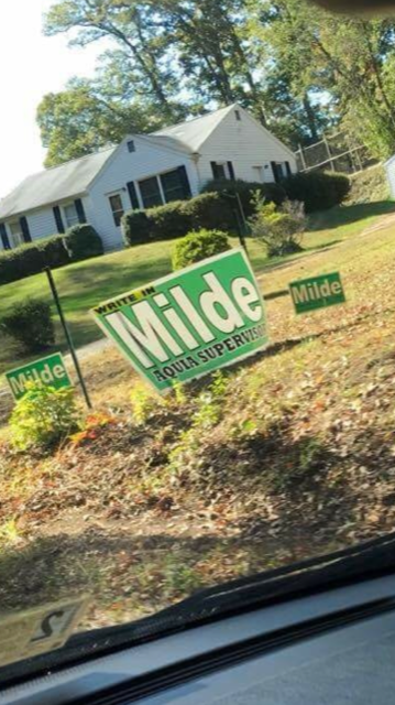 What in the world is going on with Aquia Supervisor Paul Milde?