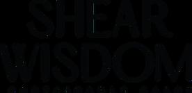 ShearWisdom_Branding_PrimaryLogo_Black_B