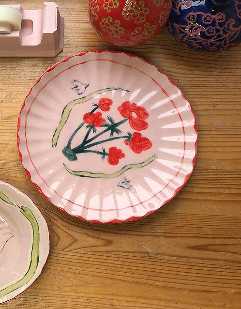 Poppy Shell Plate