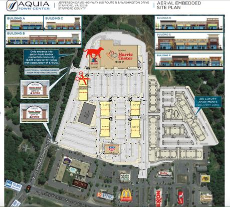 A little more info regarding Aquia Towne Center