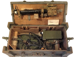 British mine detecting kit