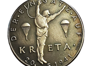 Kreta 1941 Medalion