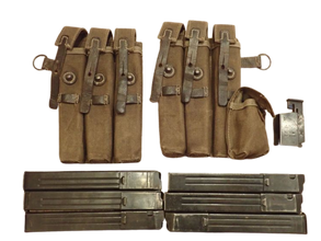 MP 40 magazines pouches and mag loader