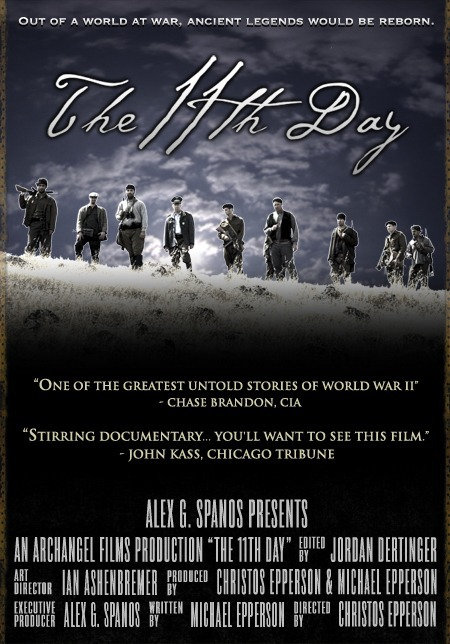 The 11th Day DVD (English and Greek Language Version)