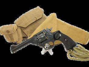 British Webley officers pistol