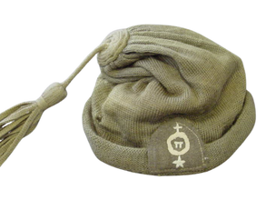 Cretan Resistance fighter cap with insignia