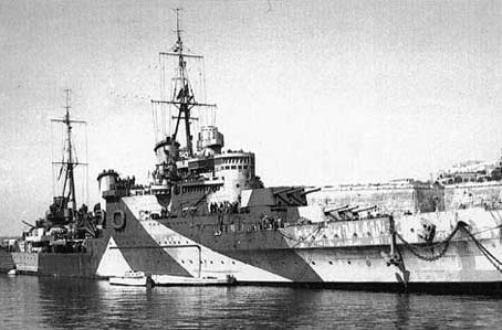 HMS Gloucester during the Battle of Crete. On May 22 1941