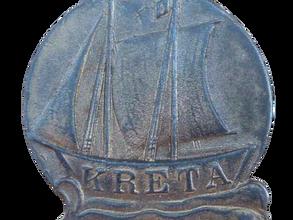 German naval Kreta medallion