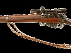 British Infield sniper rifle