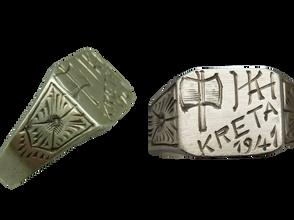 German kreta invasion ring