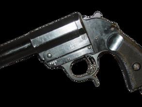 German flare pistol