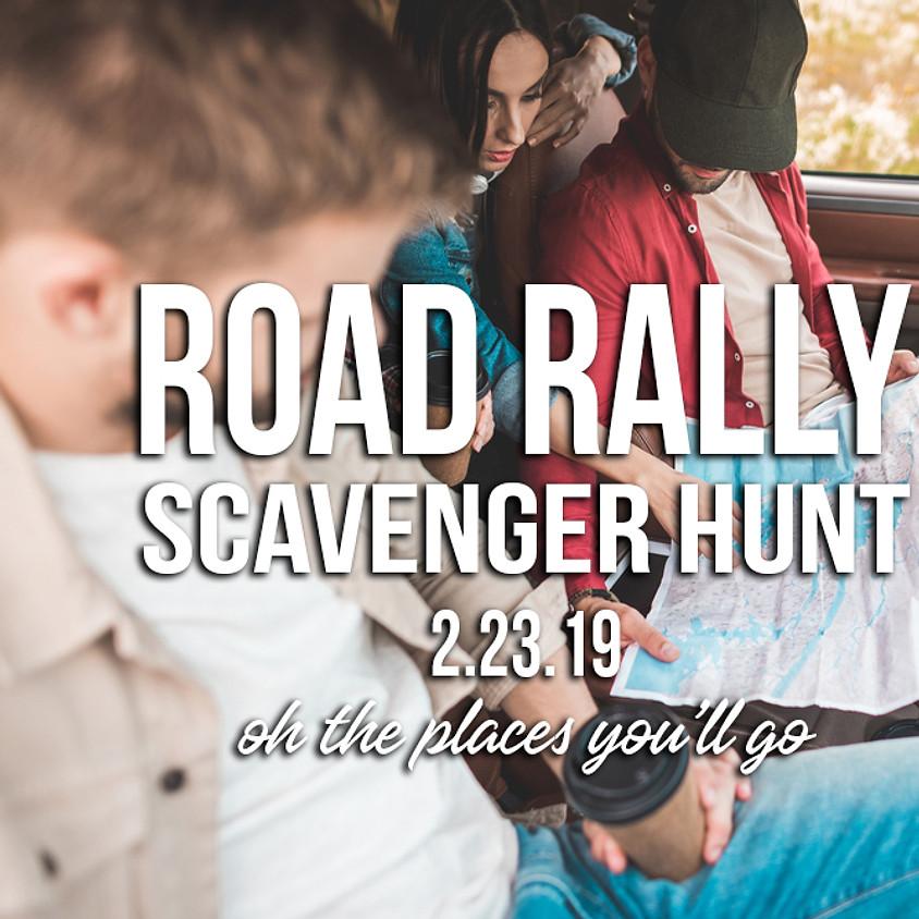 Road Rally Scavenger Hunt