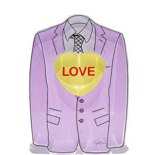 Purple Suit Love - Brigitte Polemis