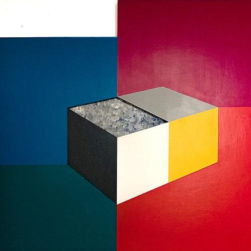Τwin cubes in space - Opy Zouni