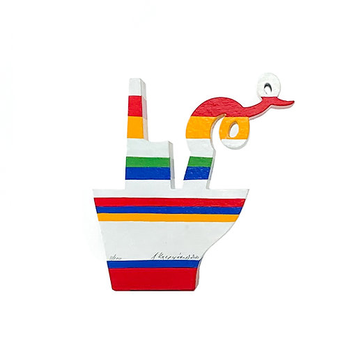 White Boat 18 - Antonis Kastrinakis