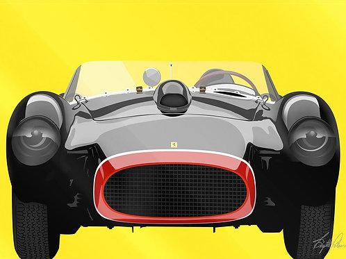 Black Ferrari - Brigitte Polemis