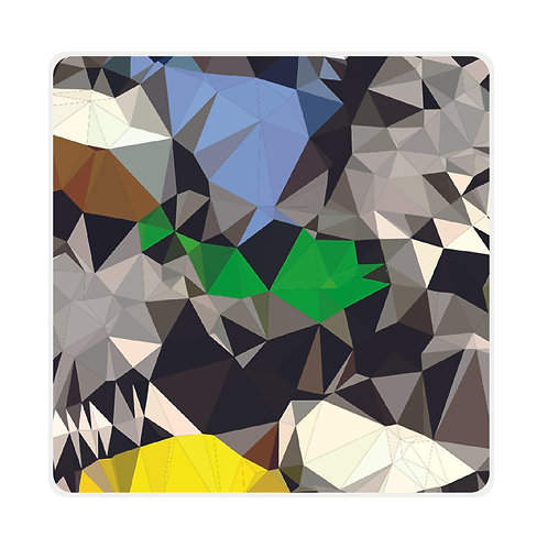 Prism Path Plexiglass Coasters by Rotate Designs