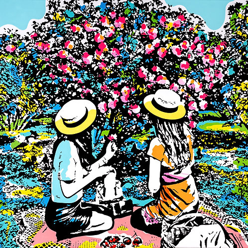 Afternoons in the garden - Marcelo Zeballos