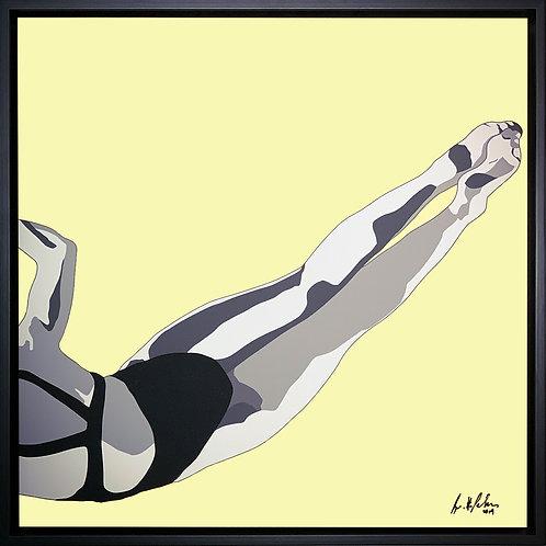 Brigitte's Polemis art print titled Swimmer