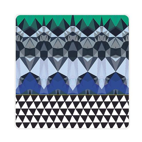 'Prism Pyramid' Coasters - Rotate Designs