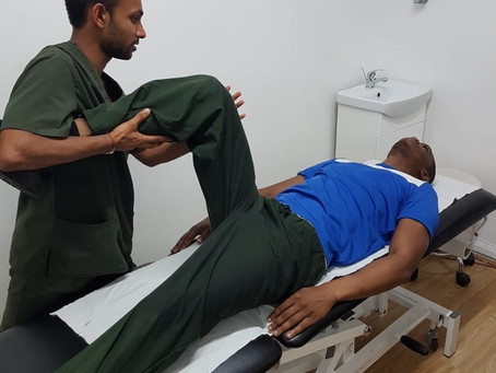 An Interview with Nikhil Dodhia, a Sports Therapist with his own business