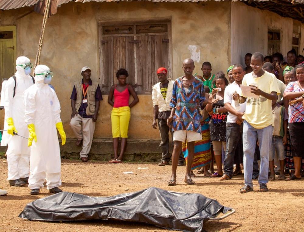 Ebola 2014 Death Virus Pandemic