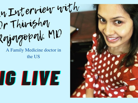 An Interview with Dr Rajagopal, MD, a Family Physician in the US
