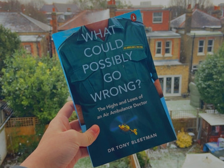 Book Review: What could possibly go wrong? by Dr Tony Bleetman