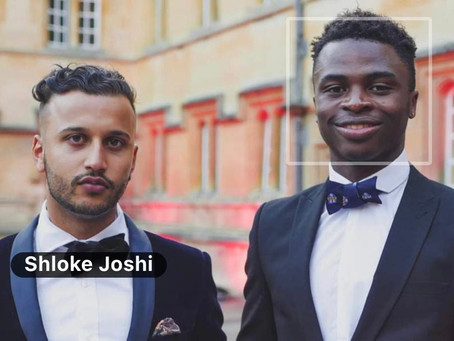 An Interview with Shloke Joshi, a final year medical student at Oxford