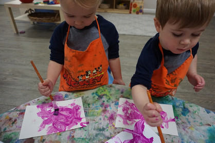 photo of Luca and Lincoln painting.jpg