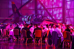 event consultancy even in a Jet Hangar