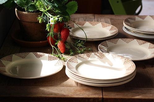 St Amand 平皿、スープ皿
