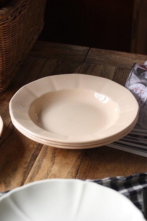 Digoin ピンク12角 スープ皿