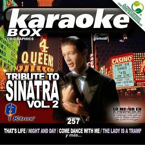 KBO-257 - Tribute To Sinatra Vol. 2