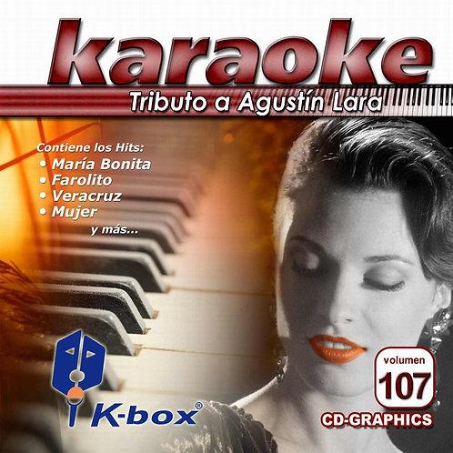 KBO-107 - Tributo A Agustín Lara