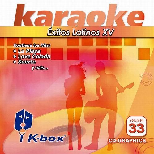 KBO-033 - Éxitos Latinos XV