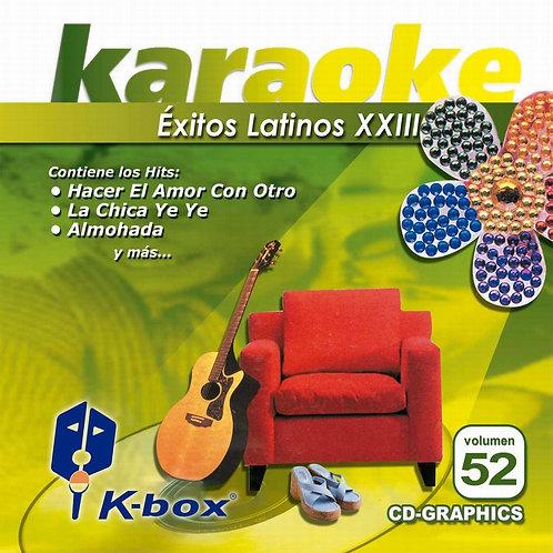 KBO-052 - Éxitos Latinos XXIII