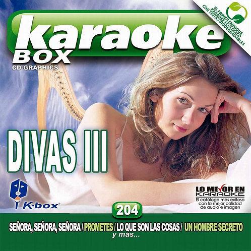 KBO-204 - Divas III