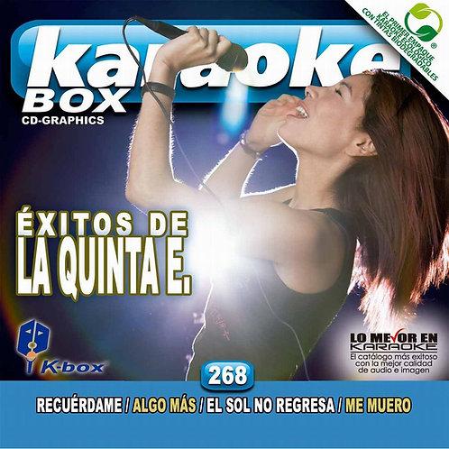 KBO-268 - Éxitos De La Quinta E.