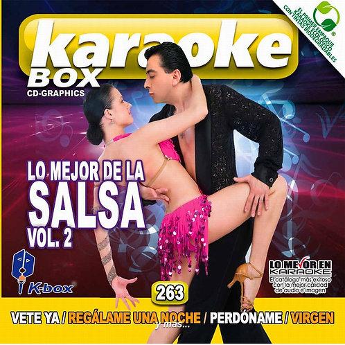 KBO-263 - Lo Mejor De La Salsa Vol. 2