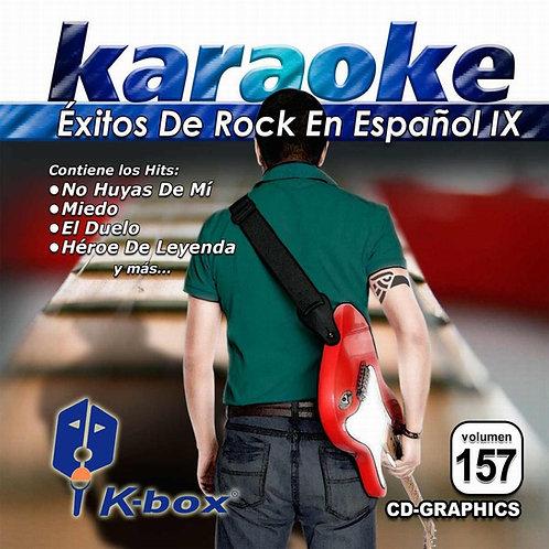 KBO-157 - Éxitos De Rock En Español IX