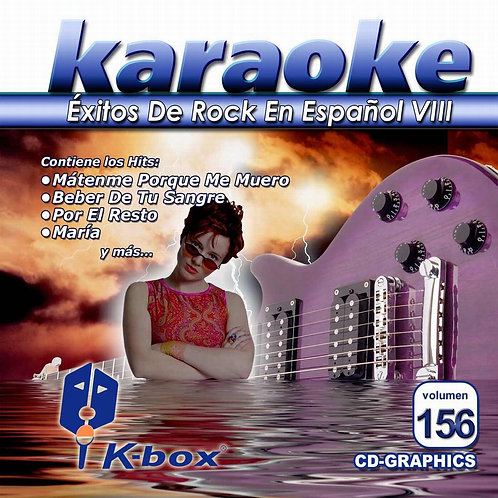 KBO-156 - Éxitos De Rock En EspaÑol VIII