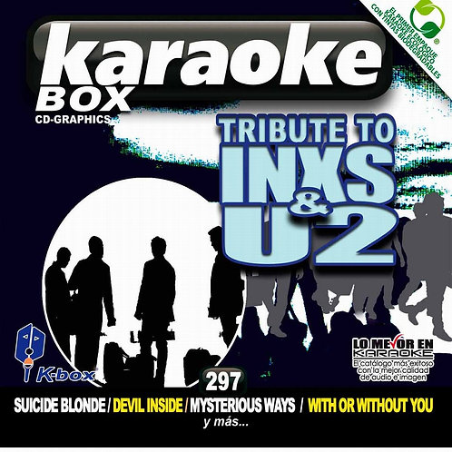 KBO-297 - Tribute To INXS & U2