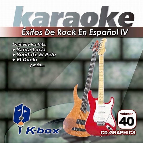 KBO-040 - Rock En Español IV
