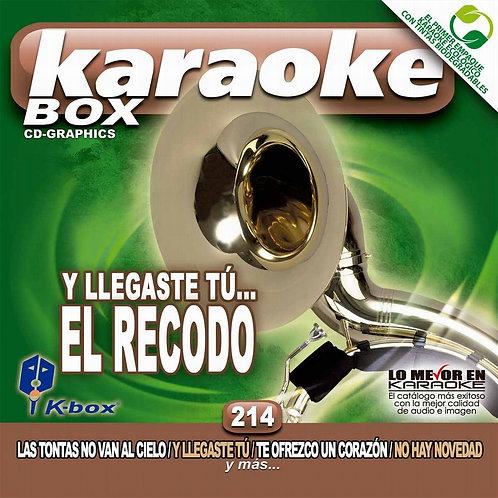 KBO-214 - Y Llegaste Tú - El Recodo