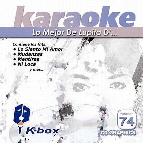 KBO-074 - Lo Mejor De Lupita D...