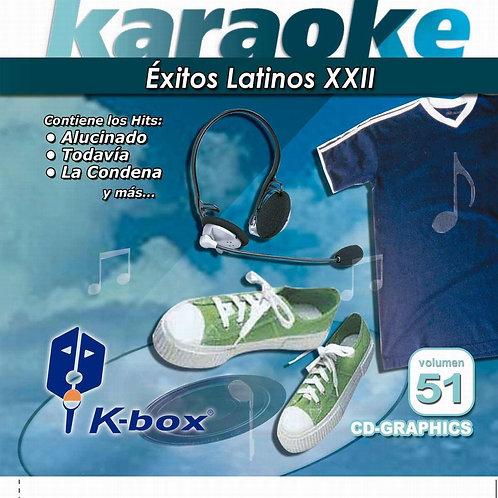 KBO-051 - Éxitos Latinos XXII